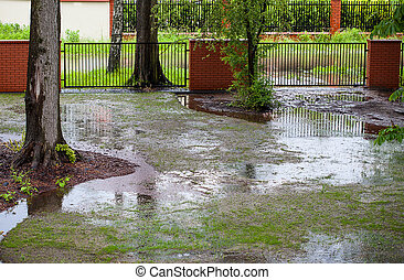 洪水, 春