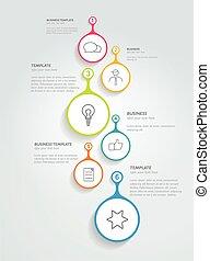 活動時間表, 簡單地, 輪, template.