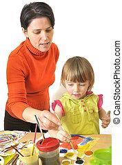活動, 在, 幼儿園