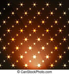 活気に満ちた, 星, 背景