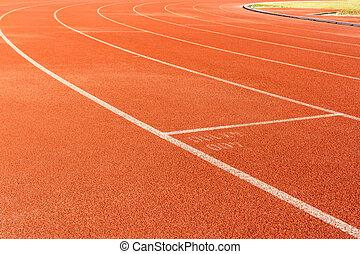 活躍の舞台, 動くこと, スポーツ, 車線, track.