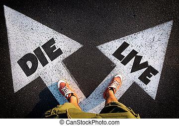 活, 或者, 死去
