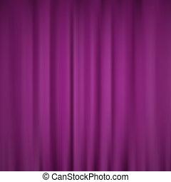 流動, 液体, 光滑, 紫色的背景