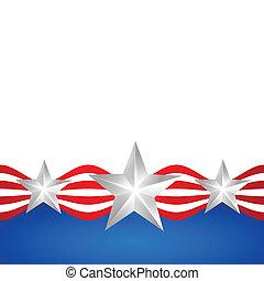 流行, アメリカ人, 日, 独立
