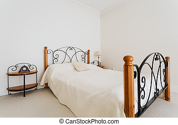 流行, 寝室, ベッド