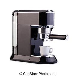 浓咖啡, 咖啡机器