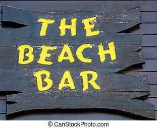 浜の印, バー