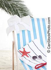 浜の 椅子, 砂