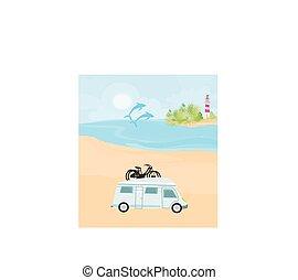 浜, キャンプ