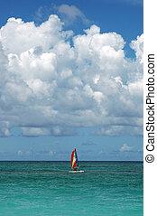 浜, 中に, ∥, カリブ海