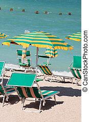 浜, 中に, ∥, 夏