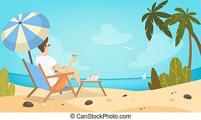 浜。, 人
