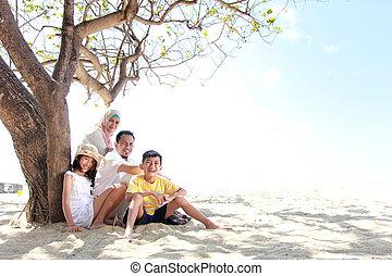 浜, 家族, 幸せ
