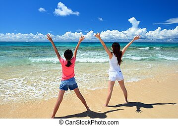 浜, 家族, 遊び
