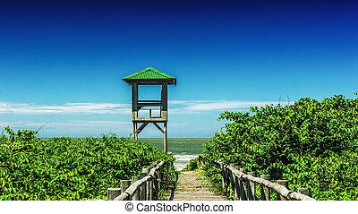浜, 方法
