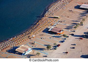 浜, 空中写真