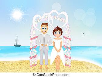 浜 結婚式