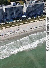 浜, 航空写真, ギンバイカ, -, 光景