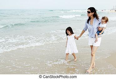 浜, 2, 娘, 母