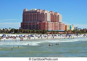 浜, clearwater, フロリダ