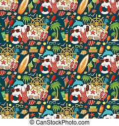 浜, pattern., seamless