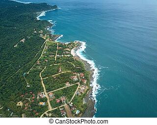 浜, santana, 空中写真