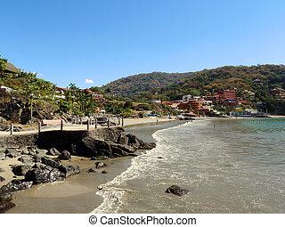 浜, zihuatanejo, ropa, playa, la