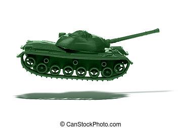 浮動, 玩具坦克, 軍隊