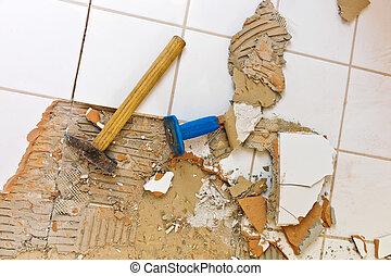 浴室, ある, 改修