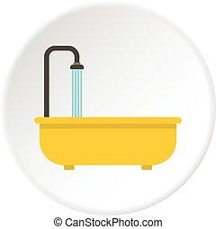 浴室, 円, アイコン