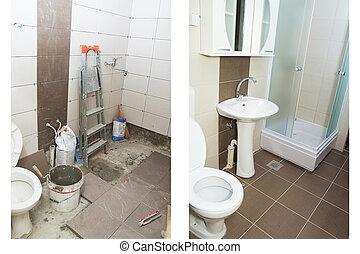 浴室, 改修