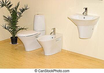 浴室, 細部