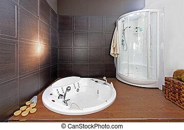 浴室, minimalistic