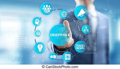 海原, screen., 人工, 概念, 偽造品, 知性, ニュース, 事実上, 媒体, 技術