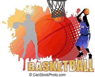 海報, 籃球