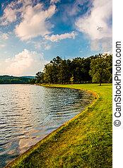 ∥, 海岸, の, 湖, pinchot, ∥において∥, gifford, pinchot, 州立 公園,...