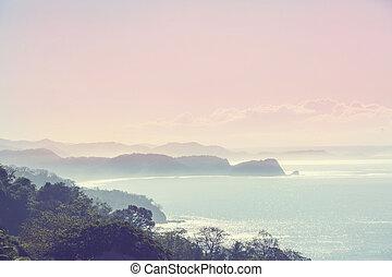 海岸, 在, 哥斯達黎加