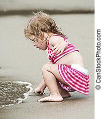 海岸, 子供