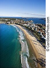 海岸, australia., 特性