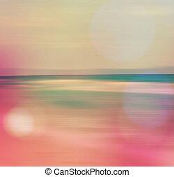 海景, 抽象的, 海