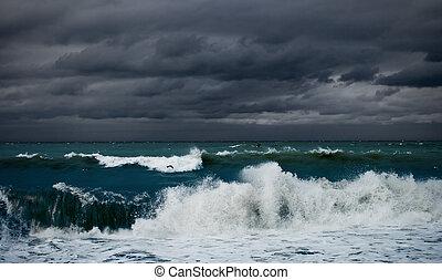 海洋, 或者, 海, 風暴