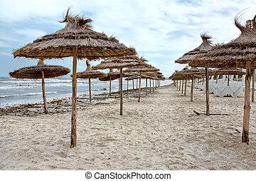 海滩, 沙, 风暴