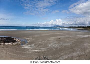 海灘, 以及, 海洋