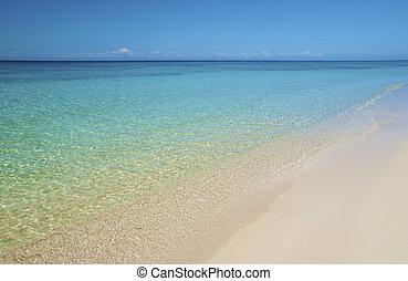 海灘, 沙