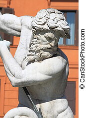 海王星, 広場, 噴水, navona