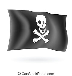 海盜旗, 海盜, 旗