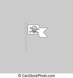 海盜旗, 電腦, 符號