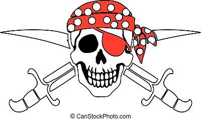 海盜, 符號, 海盜旗
