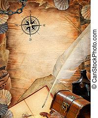 海盜, 紙
