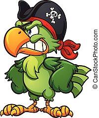 海賊, オウム